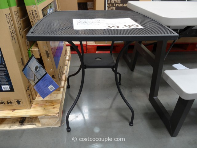 Pacific Casual Micro Mesh Bistro Table Costco 4