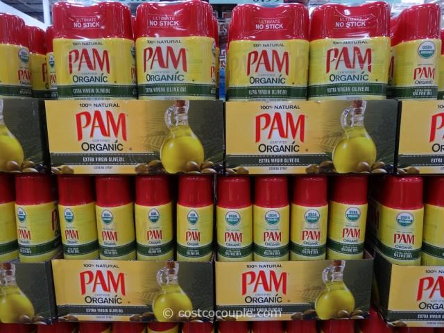 Pam Organic Extra Virgin Olive Oil Spray Costco 1