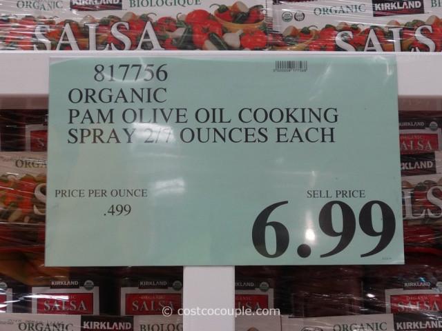 Pam Organic Extra Virgin Olive Oil Spray Costco 2
