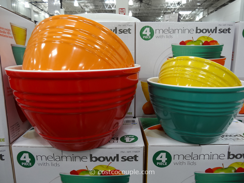 Pandex 4-Piece Melamine Bowl Set Costco 2
