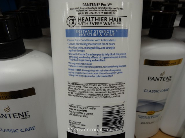 Pantene Classic Conditioner Costco 3