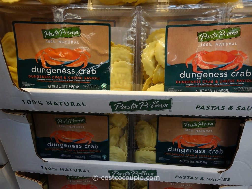 Pasta Prima Dungeness Crab and Cheese Ravioli Costco 1