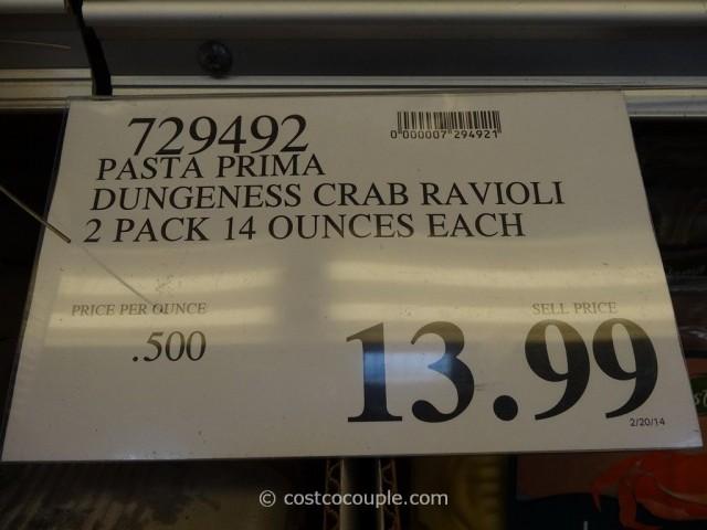 Pasta Prima Dungeness Crab and Cheese Ravioli Costco 2