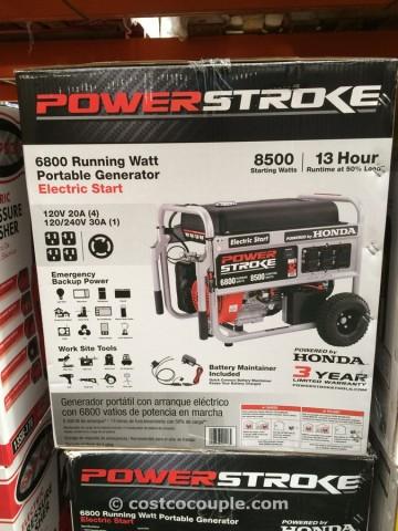 Powerstroke 6800W Generator Costco 1