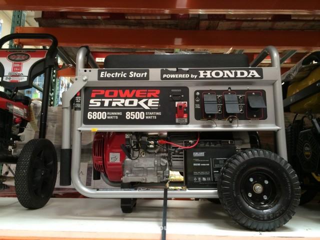 Powerstroke 6800W Generator Costco 3