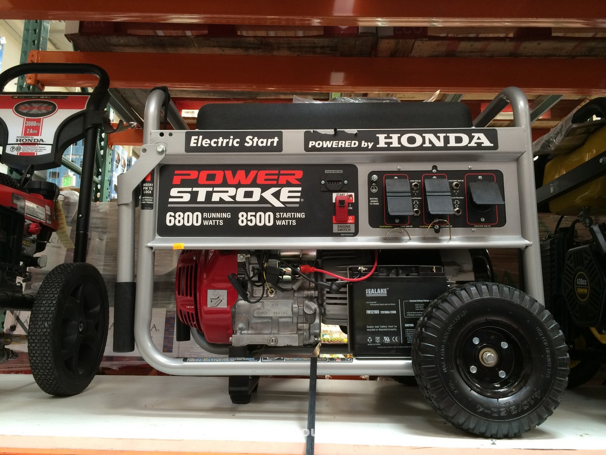 Powerstroke 6800W Generator Costco 3