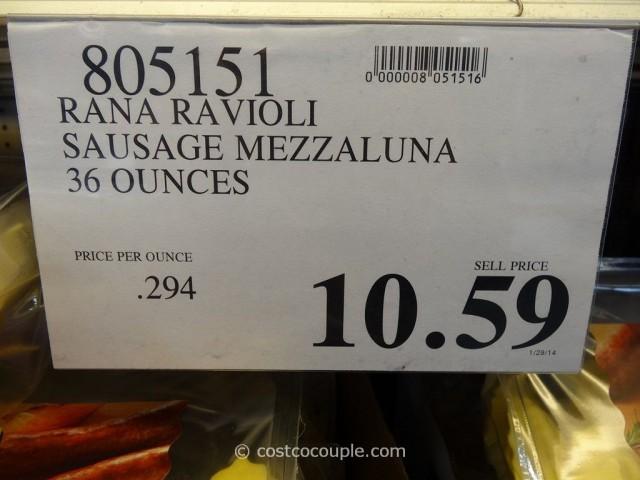 Rana Italian Sausage Ravioli Costco 1
