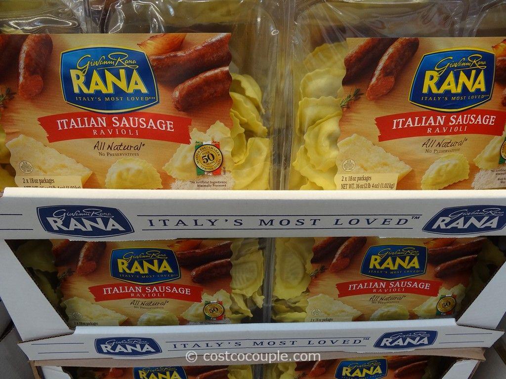 Rana Italian Sausage Ravioli Costco 2