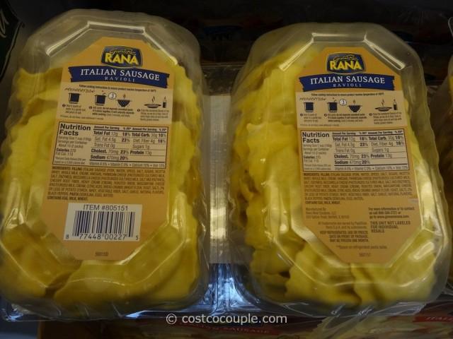 Rana Italian Sausage Ravioli Costco 3