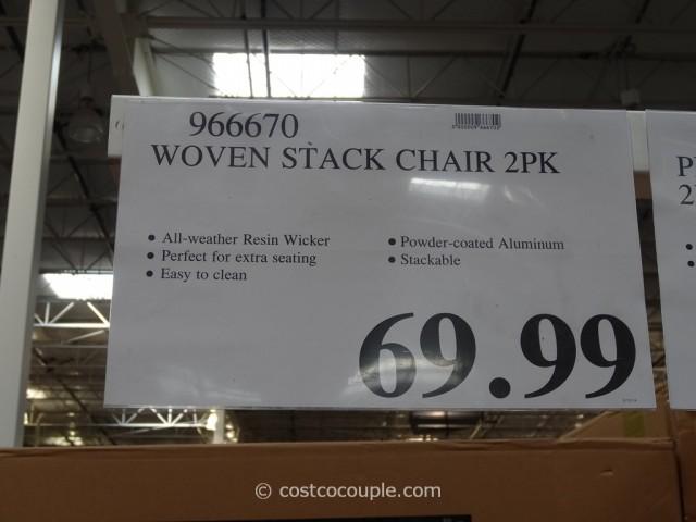 Resin Wicker Bistro Chairs Costco 2