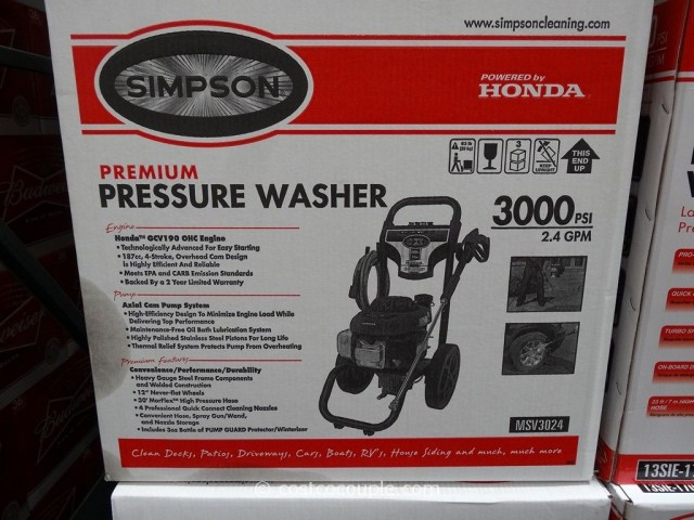 Electric Pressure Washer: Simpson Electric Pressure Washer