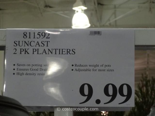 Suncast 2 Pack Planters Costco 1