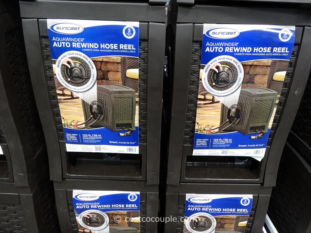 Suncast Auto Rewind Hose Reel Costco 2