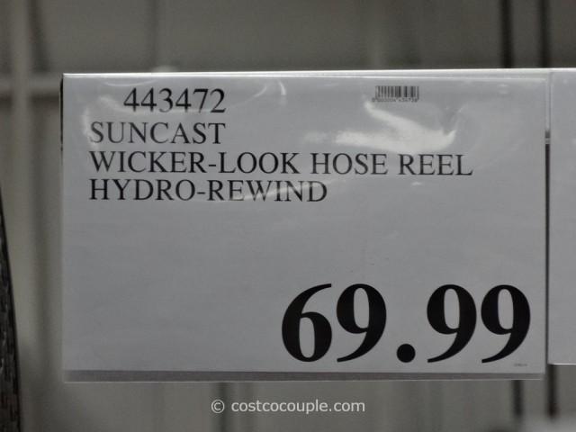 Suncast Auto Rewind Hose Reel Costco 4