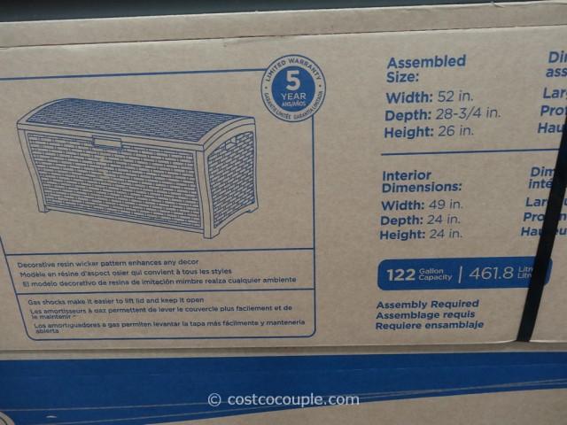 Suncast Resin Deck Box Costco 4