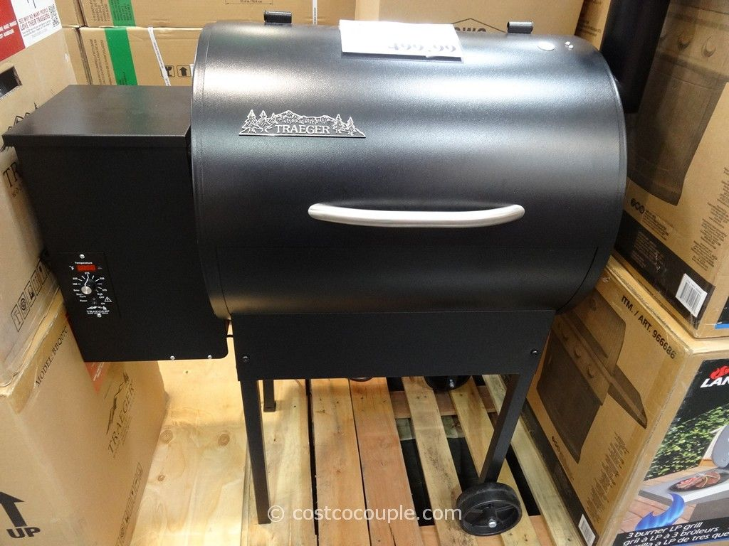Traeger Wood Pellet Grill Costco 1