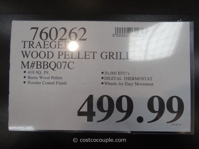Traeger Wood Pellet Grill Costco 2
