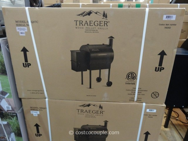 Traeger Wood Pellet Grill Costco 4