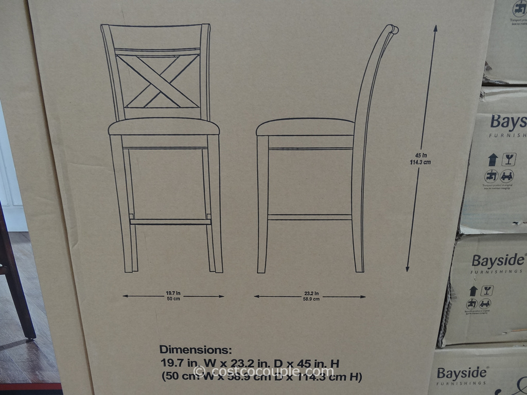 Universal Furniture Shelton 2 Pack Barstool