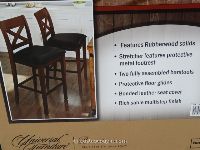 Universal Furniture Shelton 2-Pack Barstool Costco 4