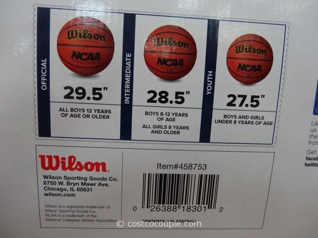 Wilson NCAA Replica Basketball Costco 3