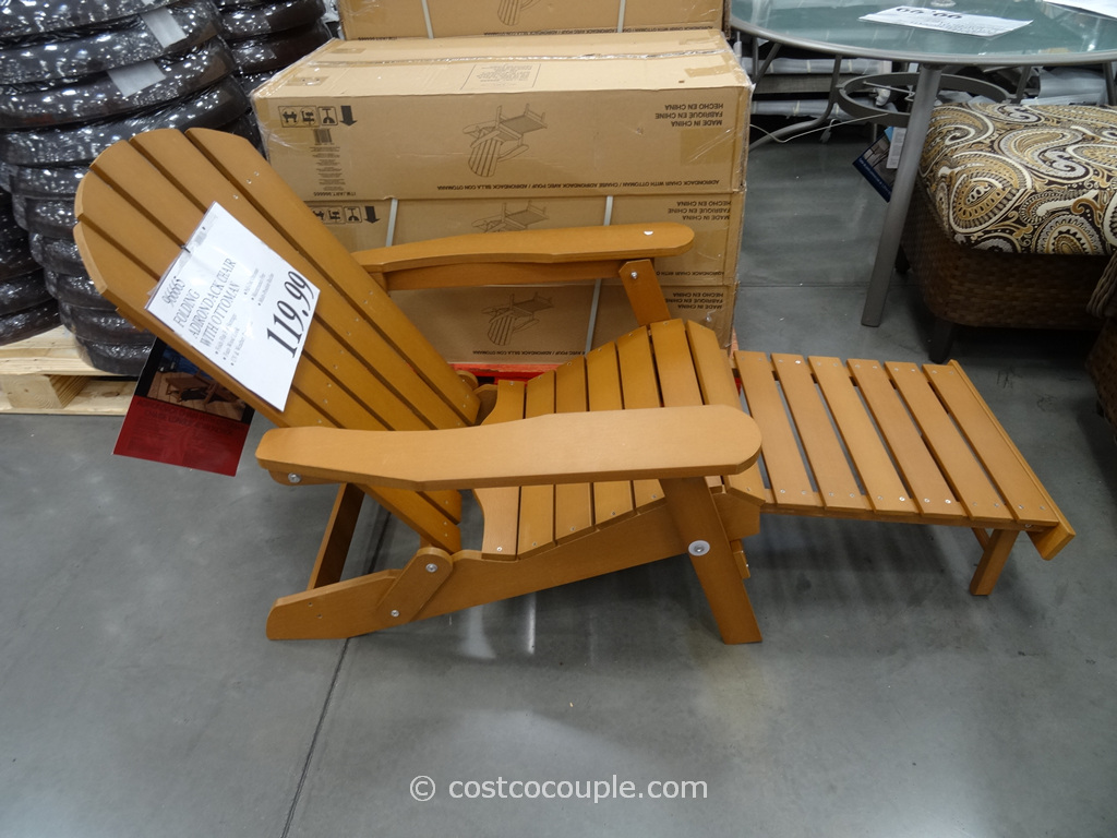 Adirondack Chair With Ottoman Costco 2