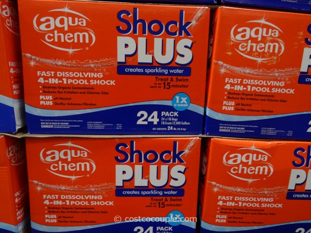 Aquachem shock plus - How soon can you swim after shocking pool ...