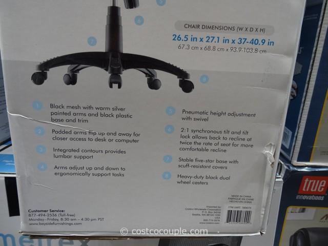 Bayside Furnishings Metrex Mesh Chair