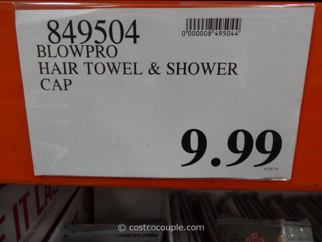 BlowPro The Perfect Hair Wrap and Shower Cap Costco 1