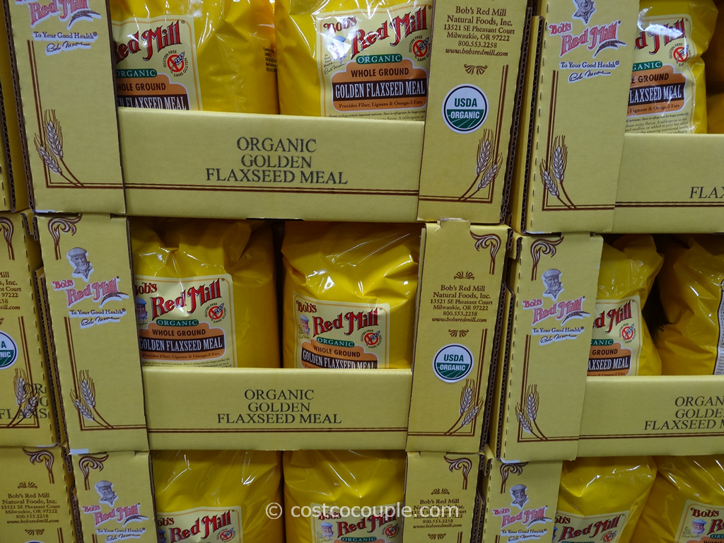 Bobs Red Mill Organic Ground Golden Flaxseed Meal Costco 2