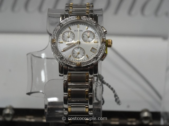 Bulova Ladies Diamond Chronograph Watch Costco 4