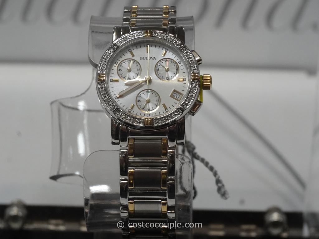 Bulova Ladies Diamond Chronograph Watch Costco 4