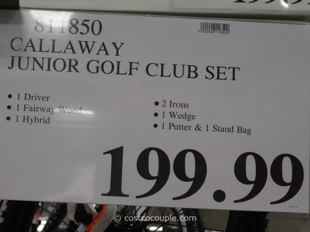 Callaway Junior Golf Club Set Costco 3