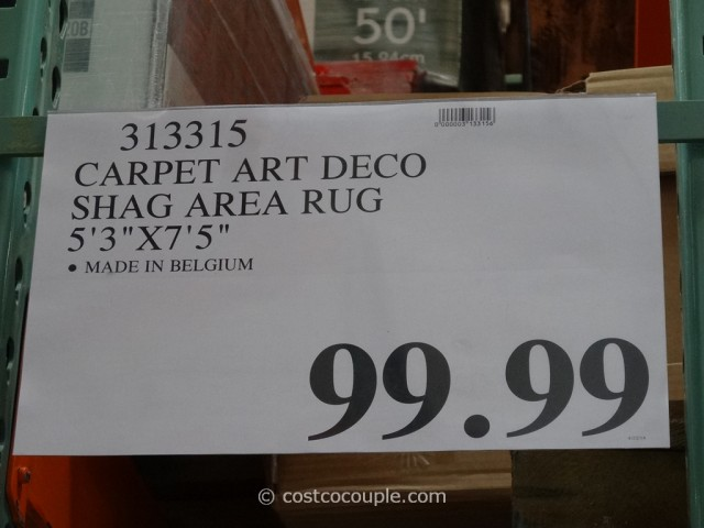 carpet art deco shag rug costco 1