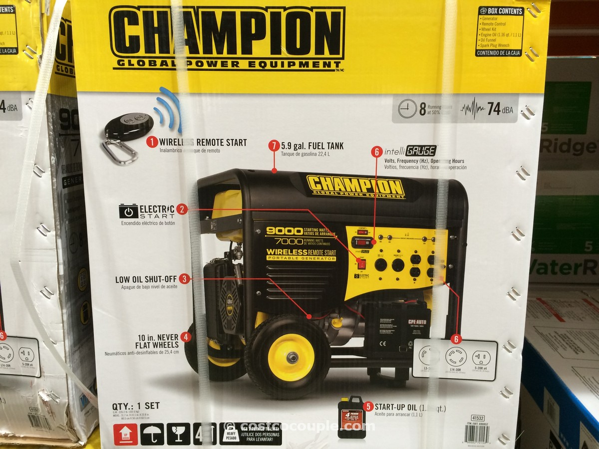 Champion Power Portable Generator Costco 1