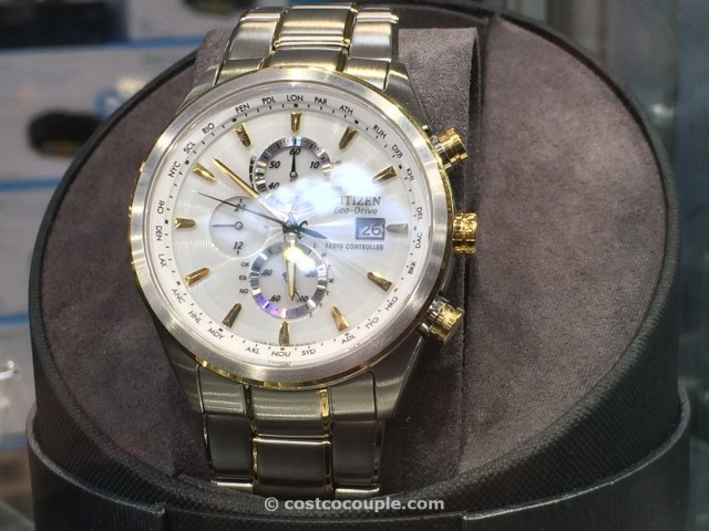 Citizen Eco-drive perpetual calendar two-tone Costco 3