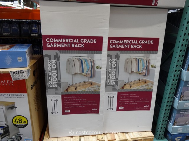 Commercial Grade Garment Rack Costco 1