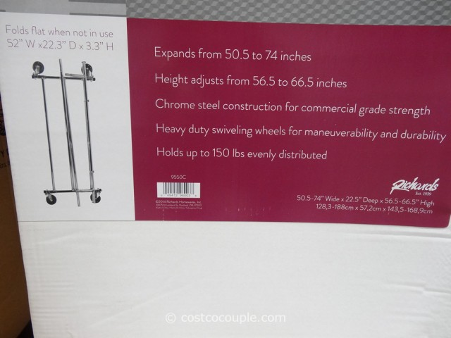 Commercial Grade Garment Rack Costco 4