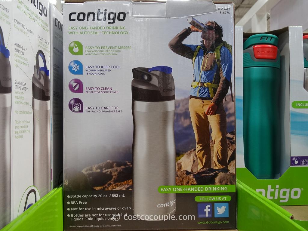 Contigo Brazos Stainless Steel Water Bottle Set