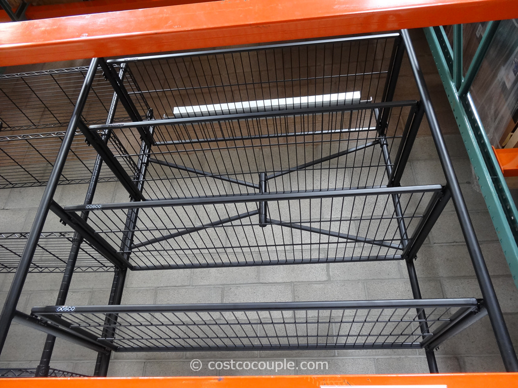 Costco Shoe Rack. Great Whalen Shelf Storage Rack Steel With Costco ...