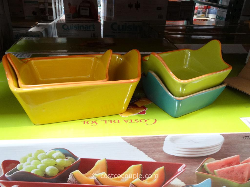 Costa Del Sol 7 Piece Serving Set