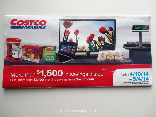 Costco April 2014 Coupon Book 1
