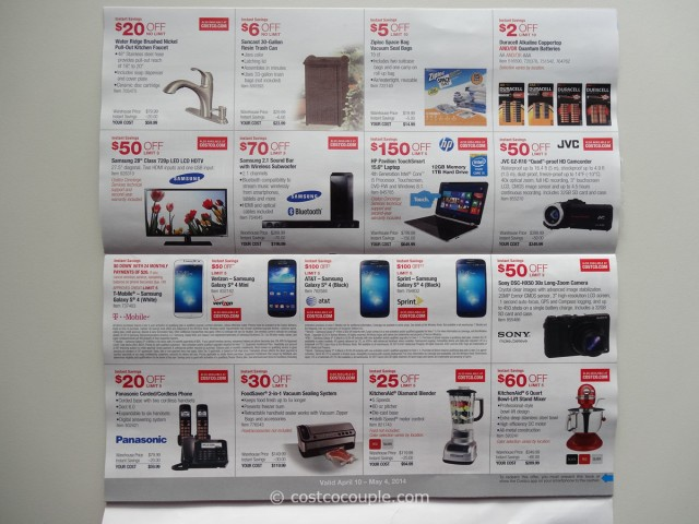 Costco April 2014 Coupon Book 3