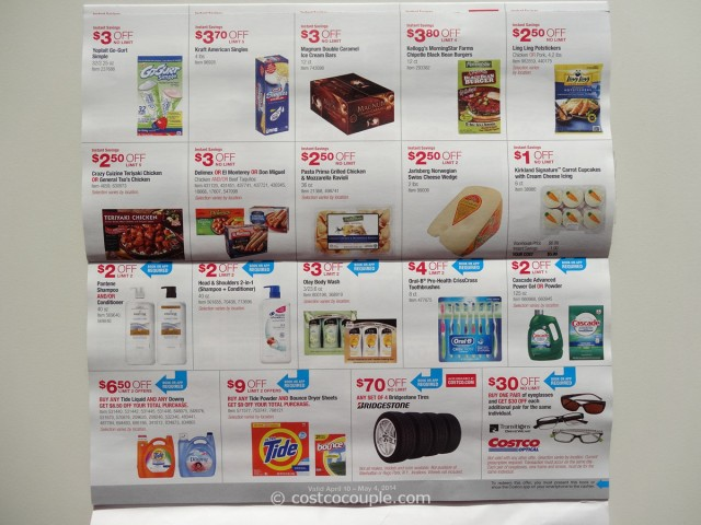 Costco April 2014 Coupon Book 8