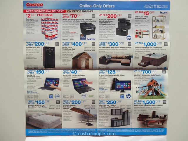 Costco April 2014 Coupon Book 9