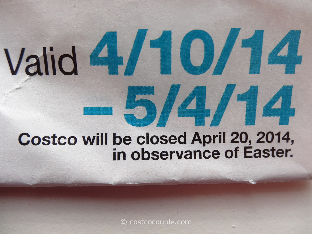 Costco Easter 2014