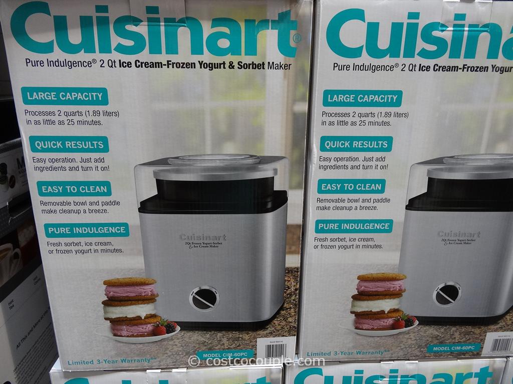 Cuisinart ice cream maker stainless steel -  Cuisinart Pure Indulgence 2qt Ice Cream Maker Costco 2