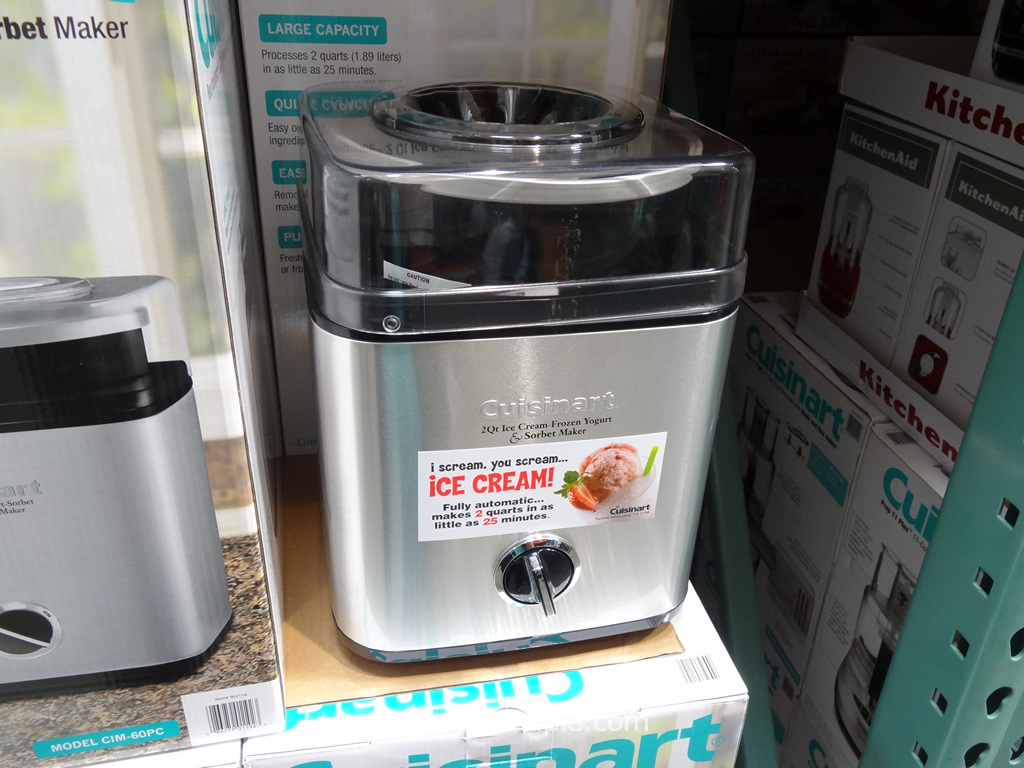 Cuisinart Pure Indulgence 2Qt Ice-Cream Maker Costco 3
