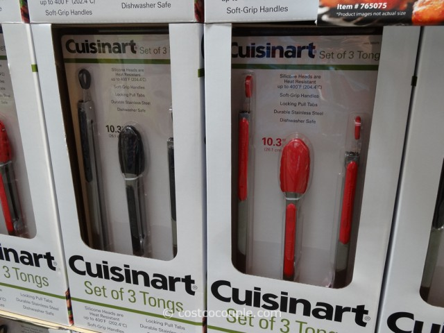 Cuisinart Stainless Steel Tongs Set Costco 2