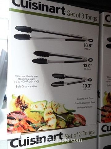 Cuisinart Stainless Steel Tongs Set Costco 3